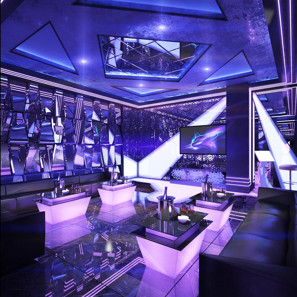 Semicircular Ktv Room Interior Design: Karaoke Room In HCM On Behance