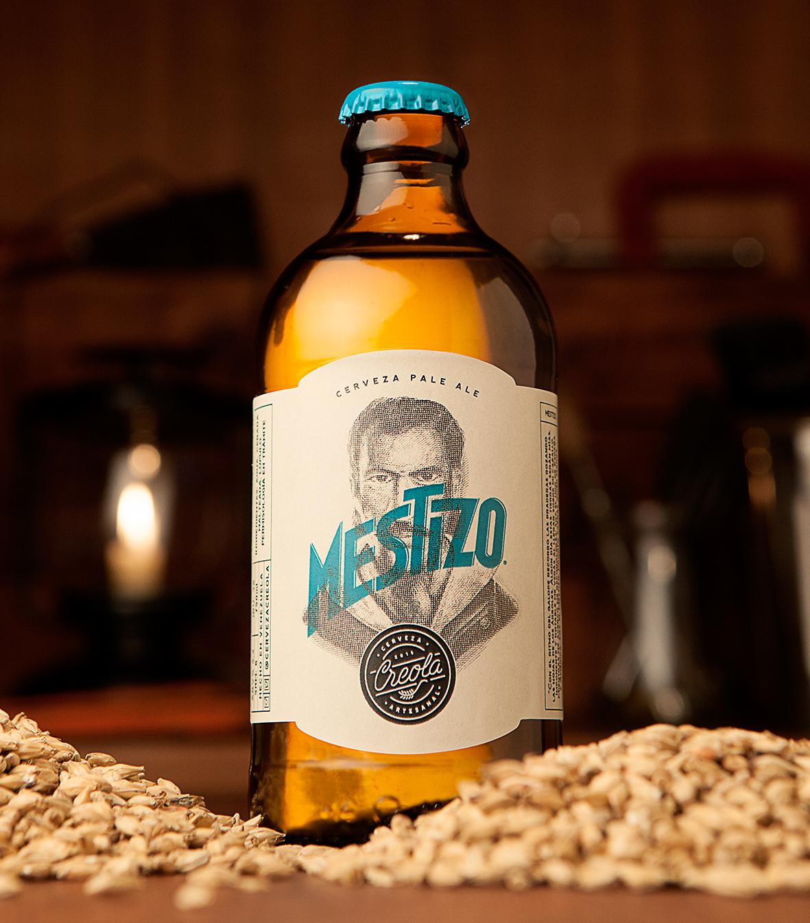 brand beer tag Label drink logo creola craft Logotipo cerveza Licor bebida botella bottle wood