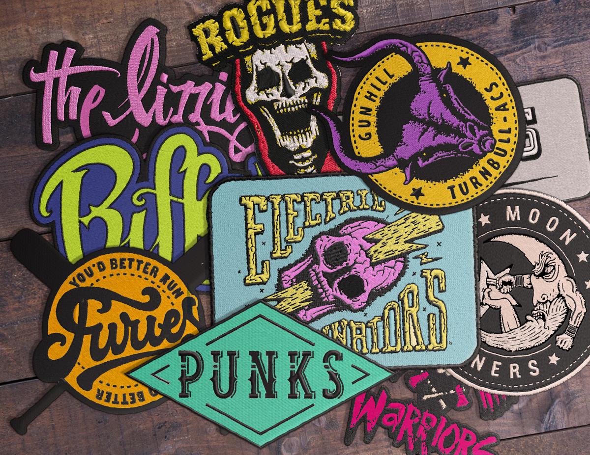 The Warriors logos on Behance