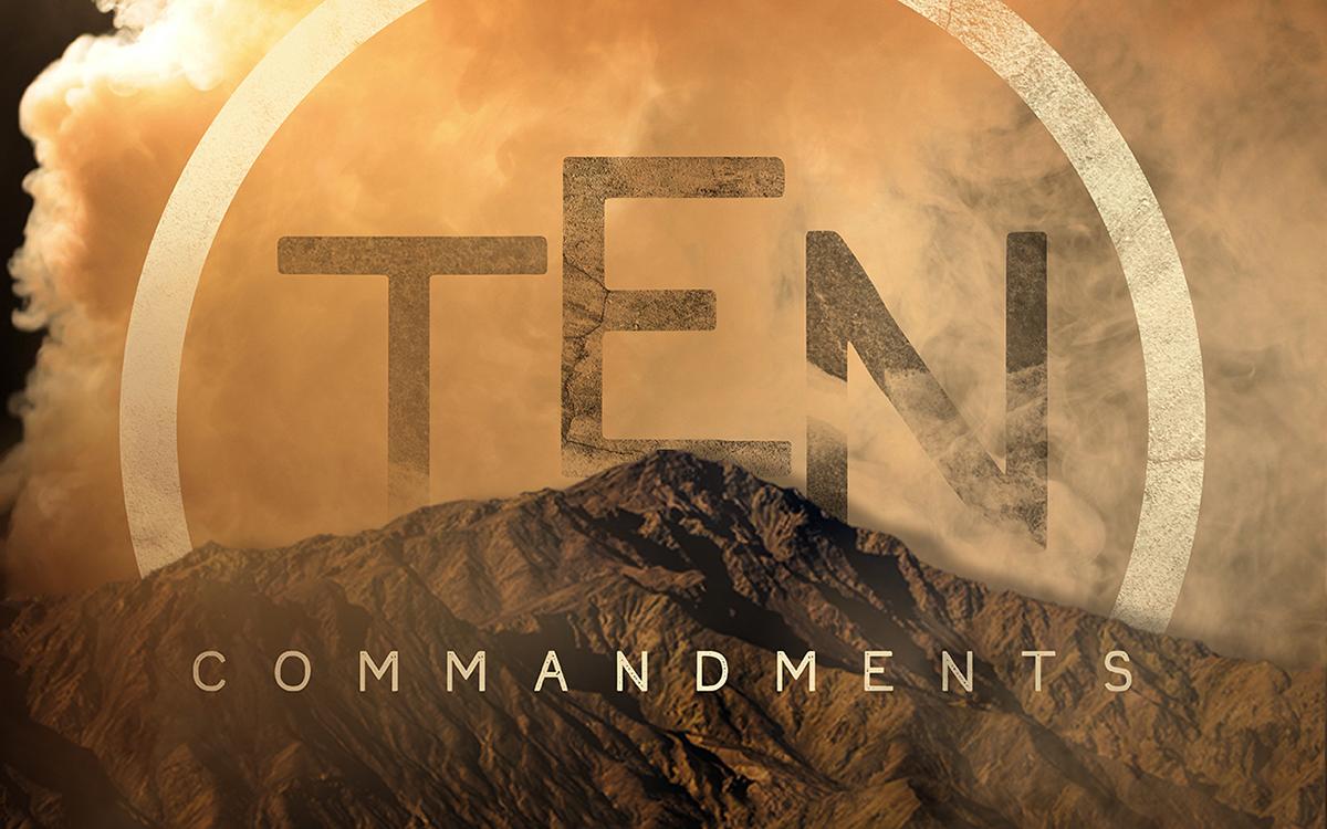 ten commandments  sermon series  on behance
