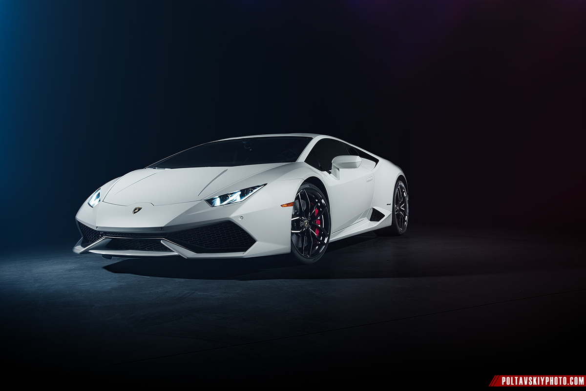 Lamborghini Huracan Cgi Photography Retouching On Behance