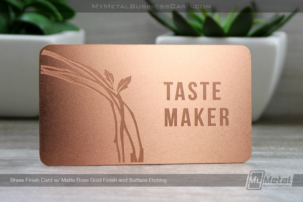 Rose gold metal business cards on behance colourmoves