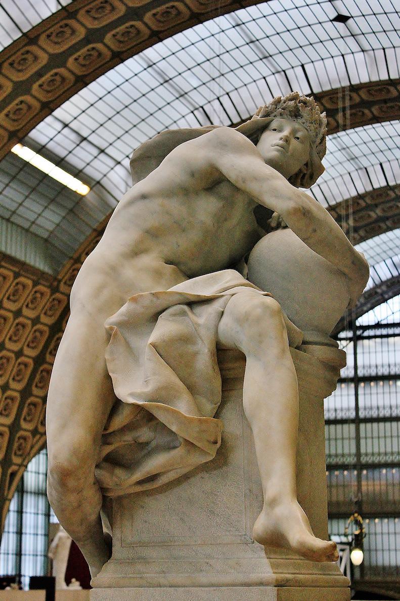 musée d'orsay degas Camille Claudel  Torse de Clotho Renoir Garçon au chat Manet Berthe Morisot Jean Escoula Foucault