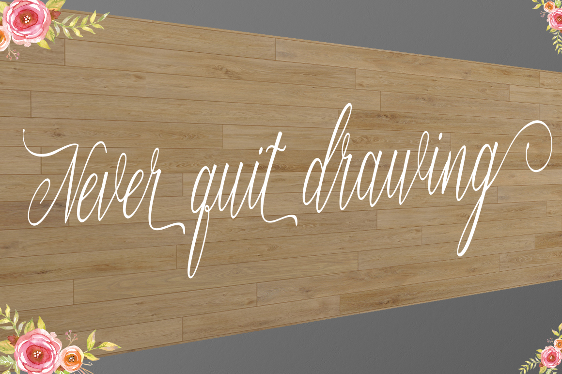 Free font Free Script Font modern calligraphy free typeface Script Font