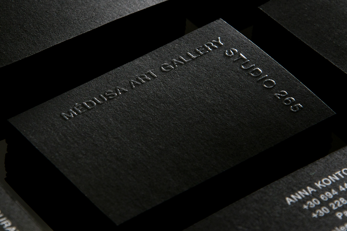 Art Gallery business card on Behance