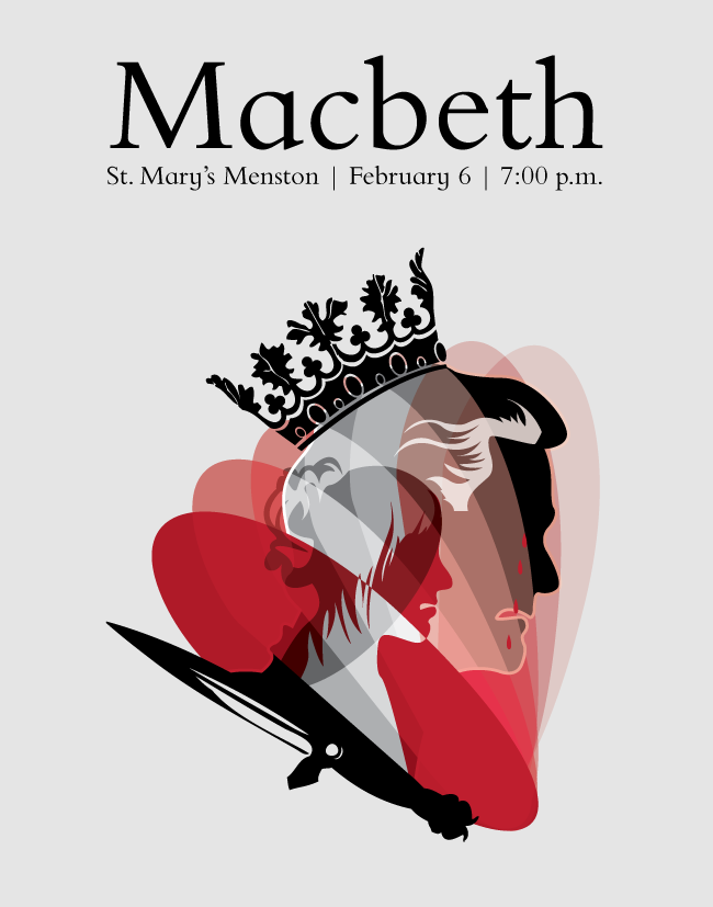 Macbeth Book Cover Ideas ~ Posters on behance