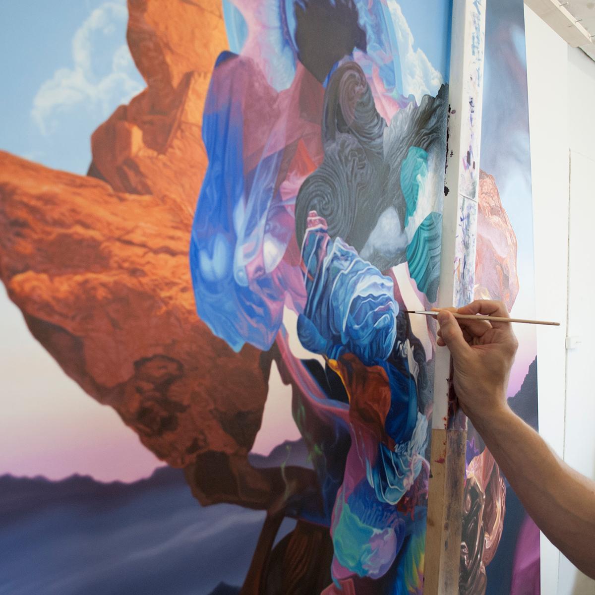 artist studio career gallery painting   ILLUSTRATION