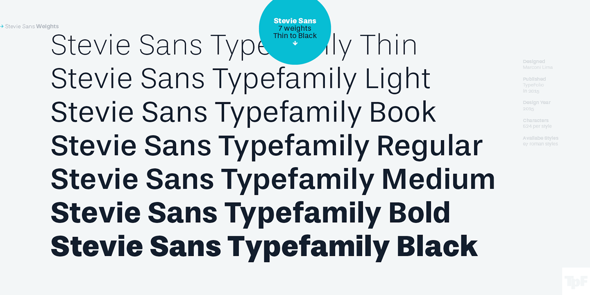 typedesign typefolio steviesans grotesque grotesk marconilima