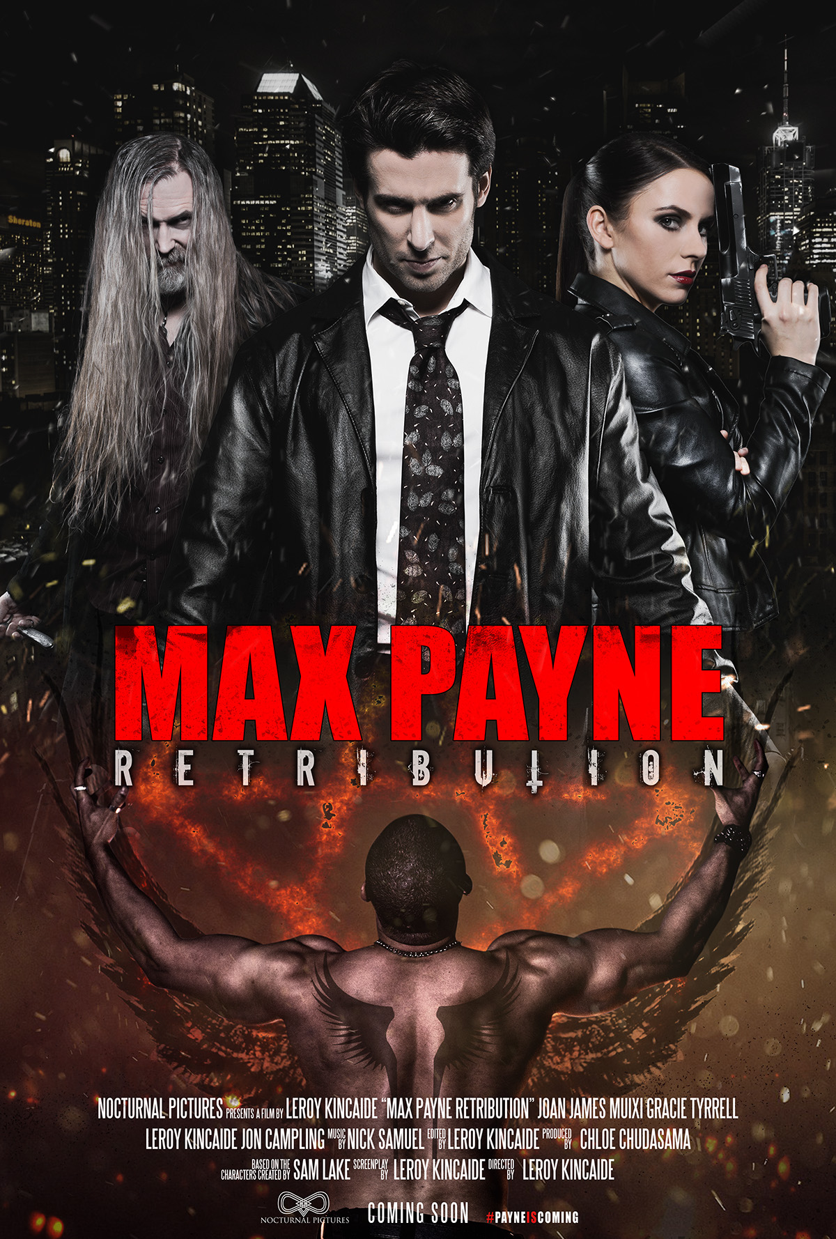 max payne retribution official movie poster on behance