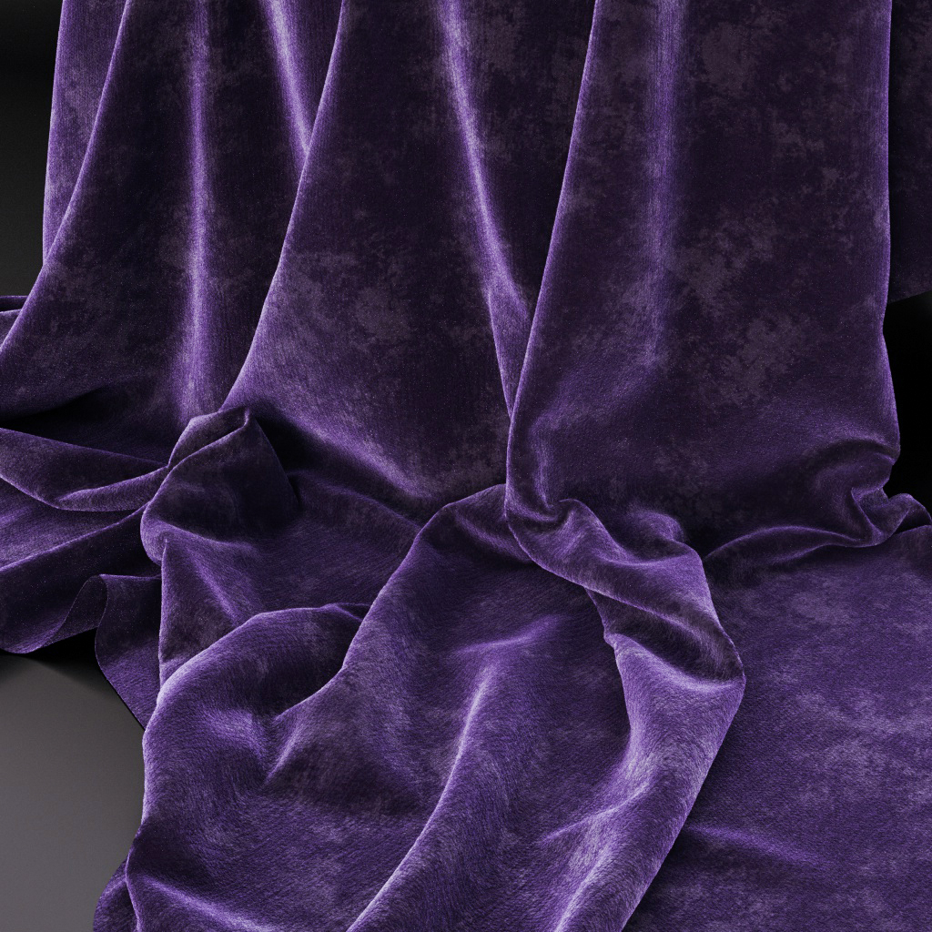 CGI Fabrics and Leather material study on Behance