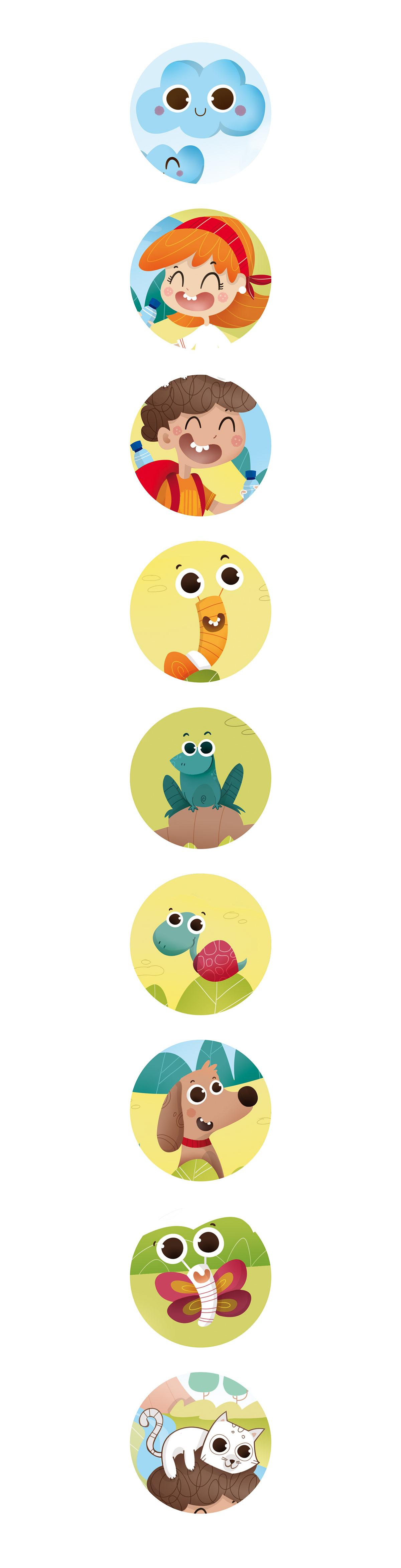 Packaging ilustracion ilustración infantil etiqueta