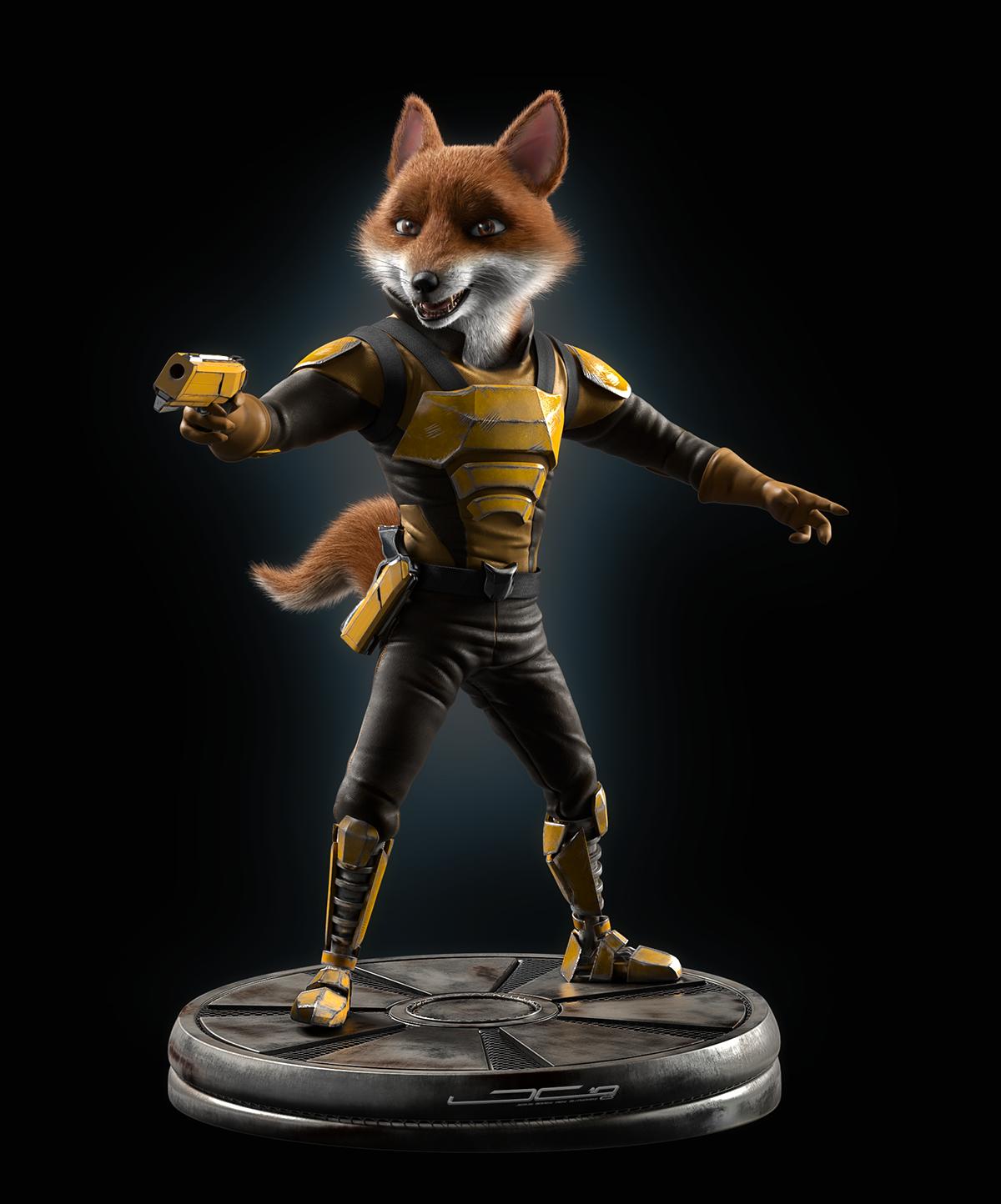 Fox Mccloud Concept On Behance