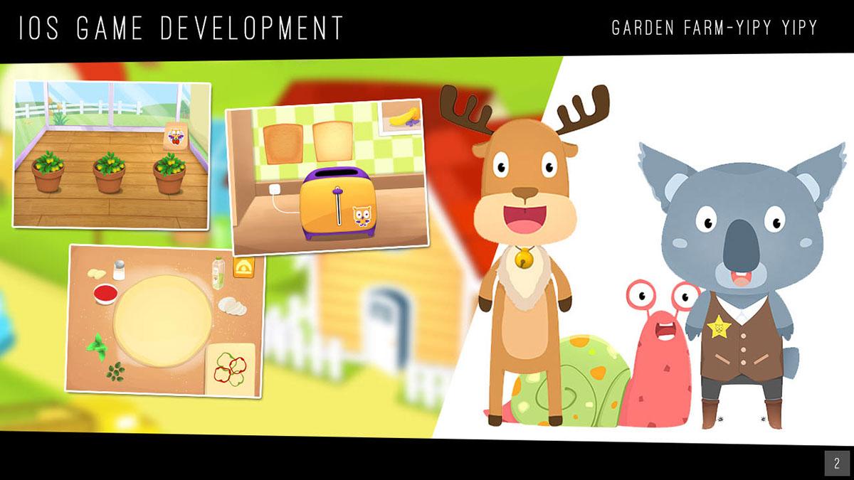 iOS Game chibi drawing cartoon drawing