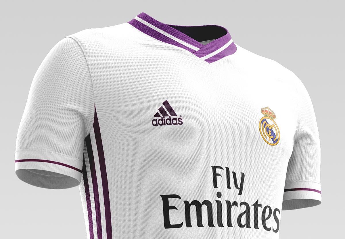 buy online a5894 78ec6 Real Madrid CF Football Kit 16/17. on Behance