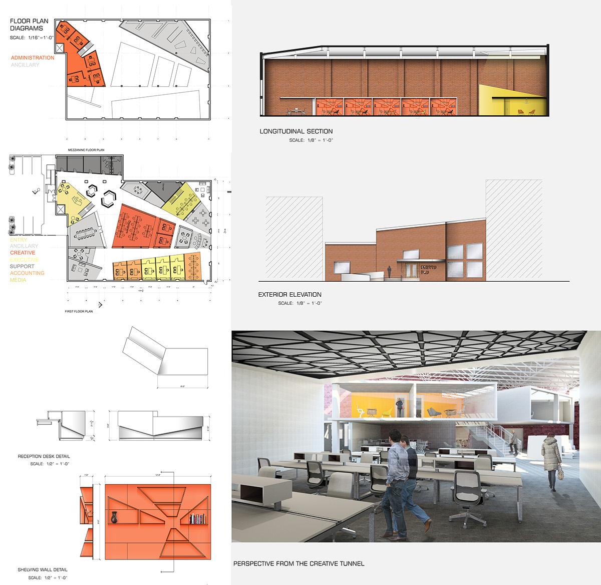 Ad agency on philau portfolios for Interior design for advertising agency