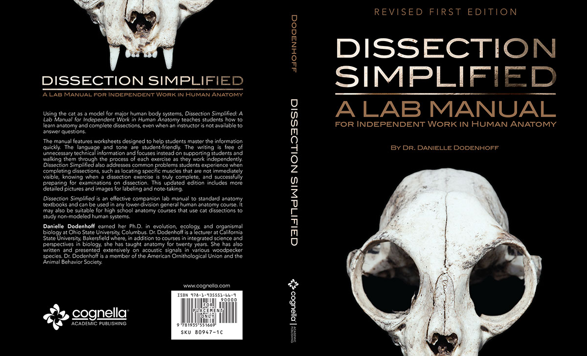 Dissection Simplified Lab Manual Book Cover Design on Behance