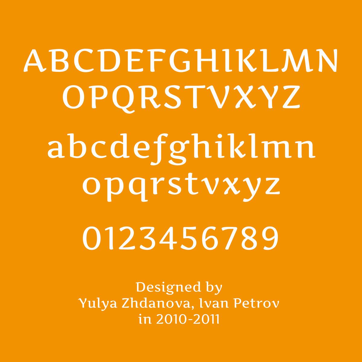 type&typography  Latin Typeface Google Font zhdanova font cool serif free free download