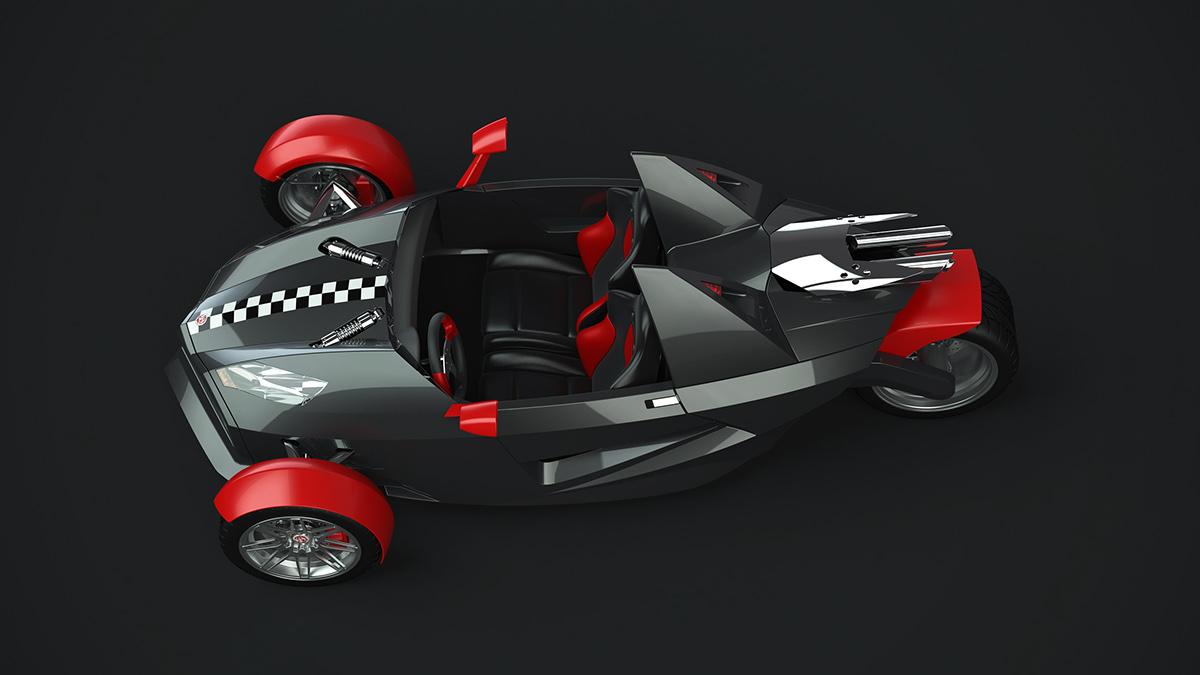 Rhino Rhinoceros Surface Modeling trike electric reverse trike sport speed
