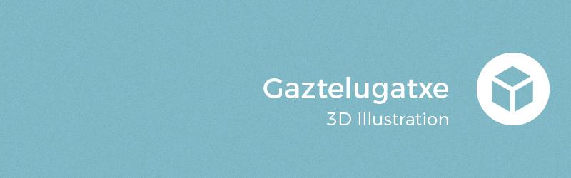 3D illustration 3D Modelling cartoon Low Poly Maya
