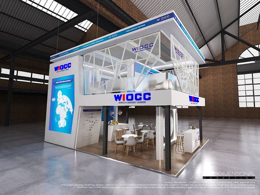 Expo Stands Cape Town : Wiocc africacom on behance