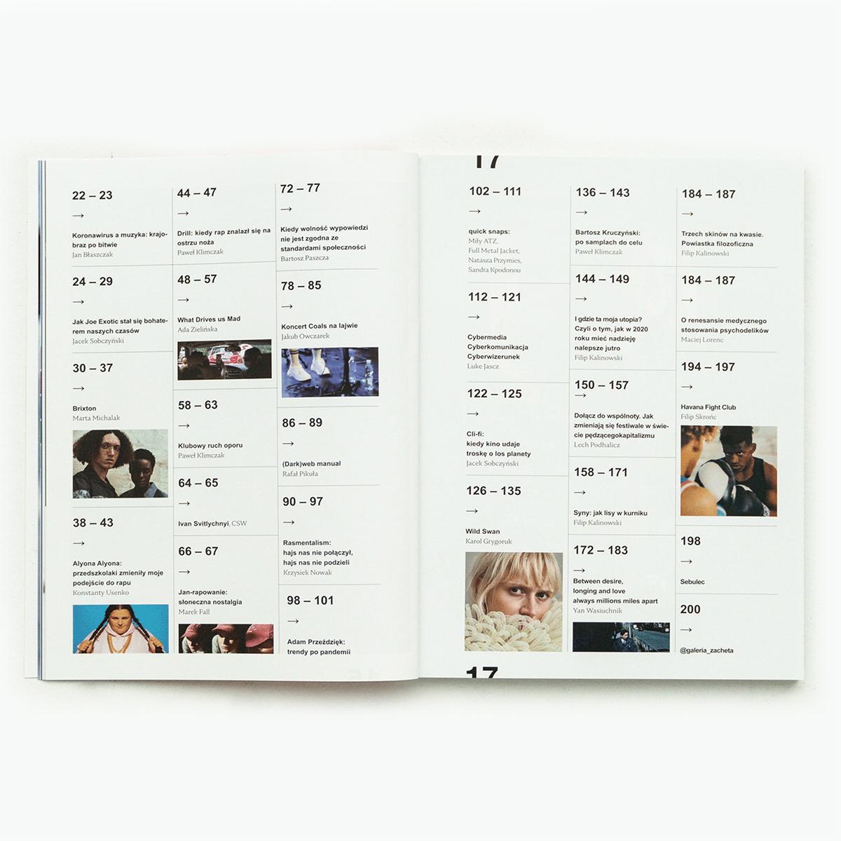 ArtDirector edytorial design  lifestyle Logo Design MACHALSKI MATEUSZ  magazine Magazine design newonce Rap Music typography