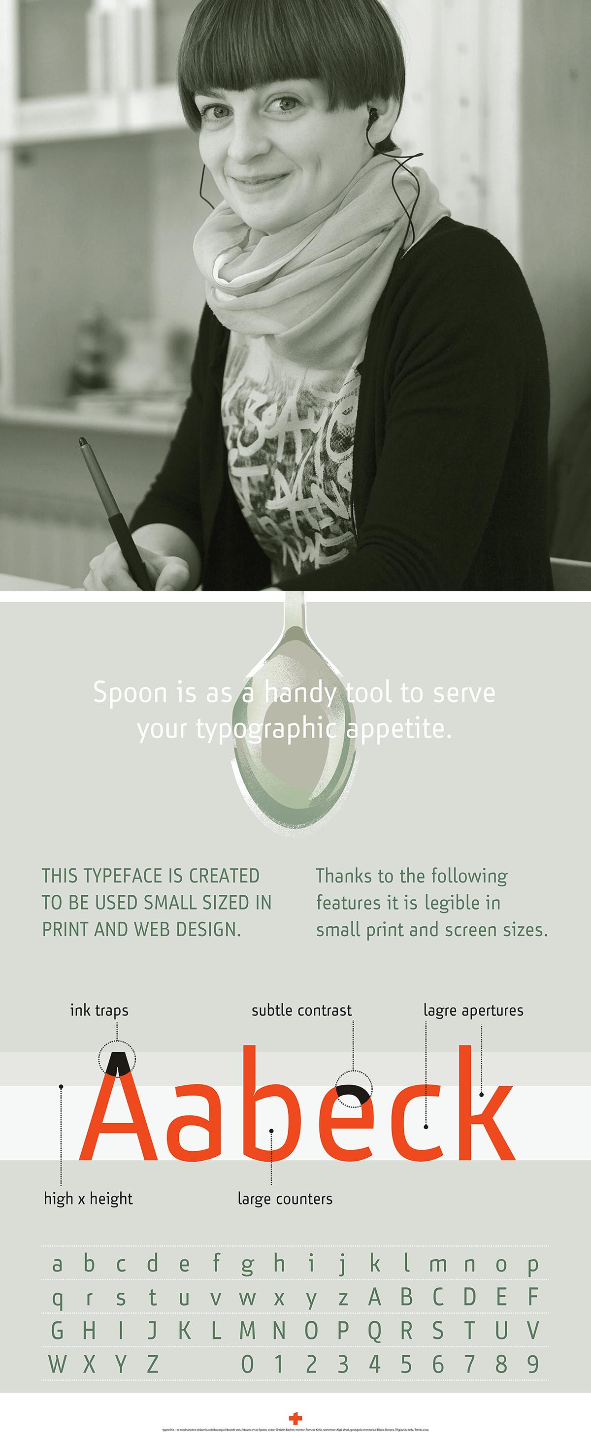 type Typeface coworking font type family Workshop International Event type design slovenia poster letter trenta type school print