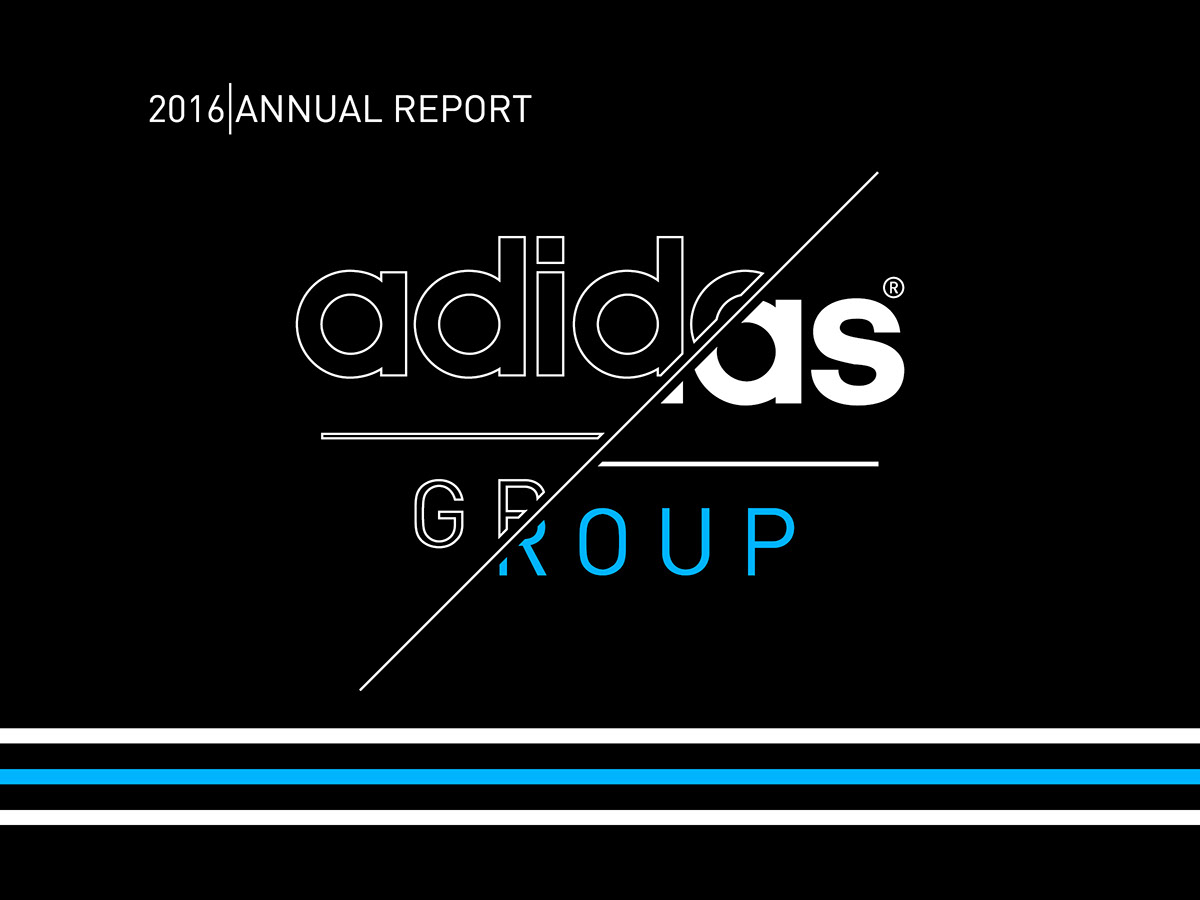 Adidas Annual Report | Annual report, North face logo, Adidas