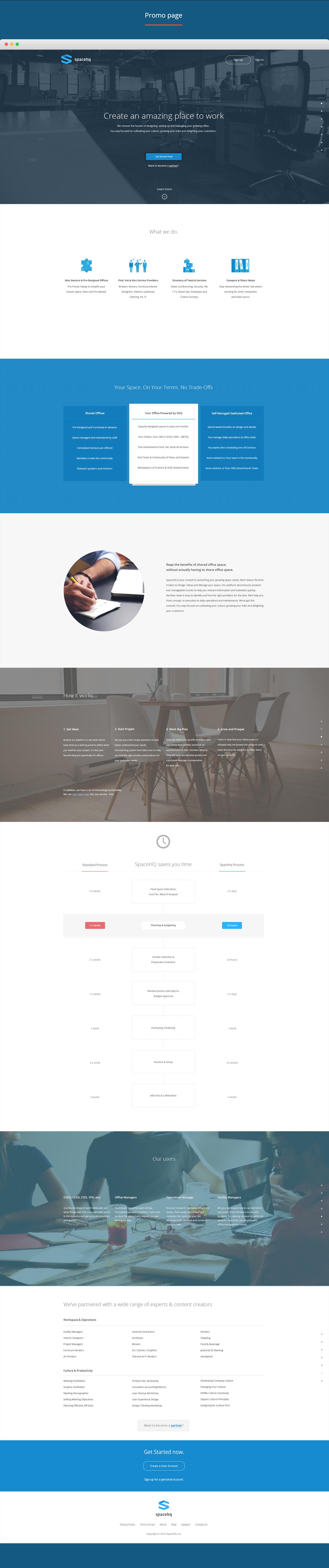 ui design ux UI Web desktop Office place Space  Startup