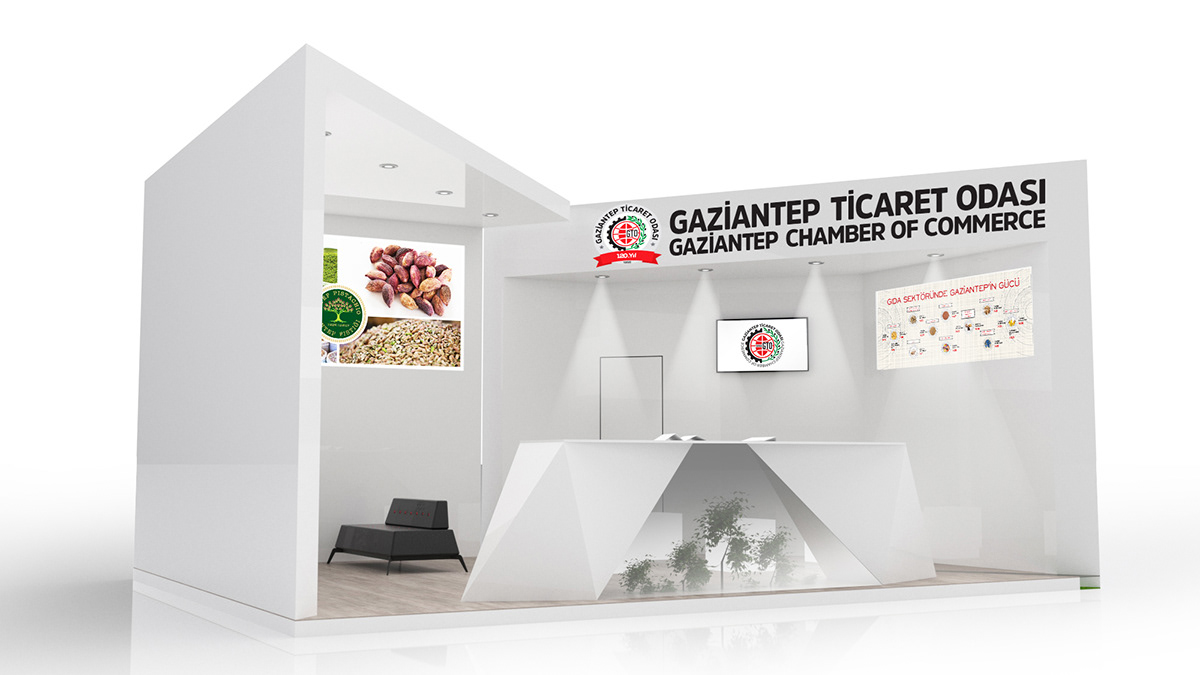 Exhibition Stand Nature : Exhibition stand design on pantone canvas gallery