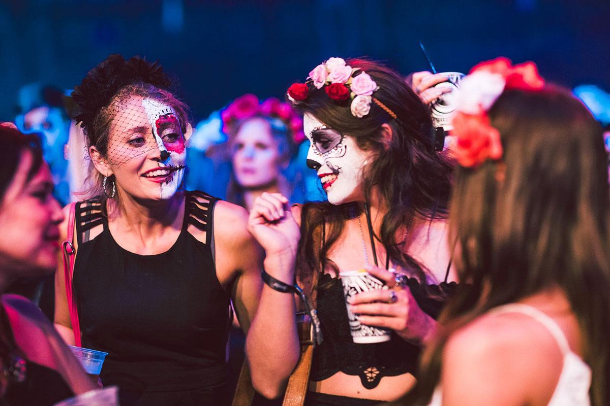 Day of Dead Dia De Muertos dead life sydney Halloween Muerte rave Stage party