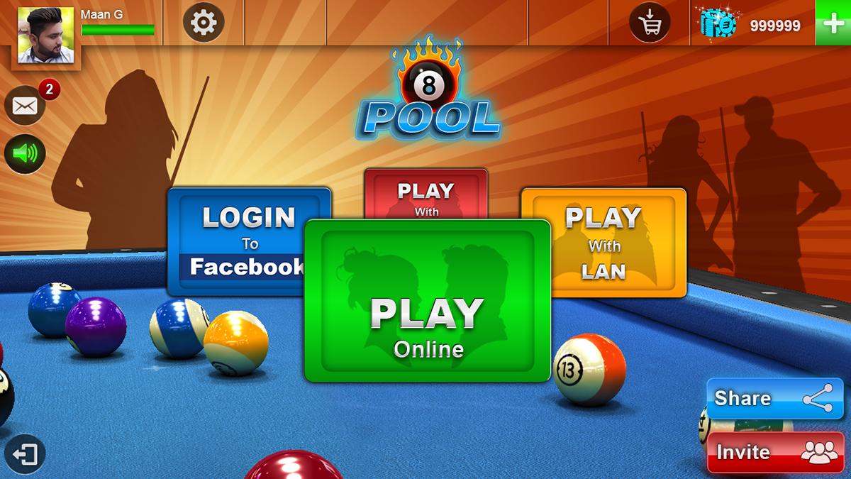 Game Designing 8 Ball Pool Billiard Game Ui Ux On Behance
