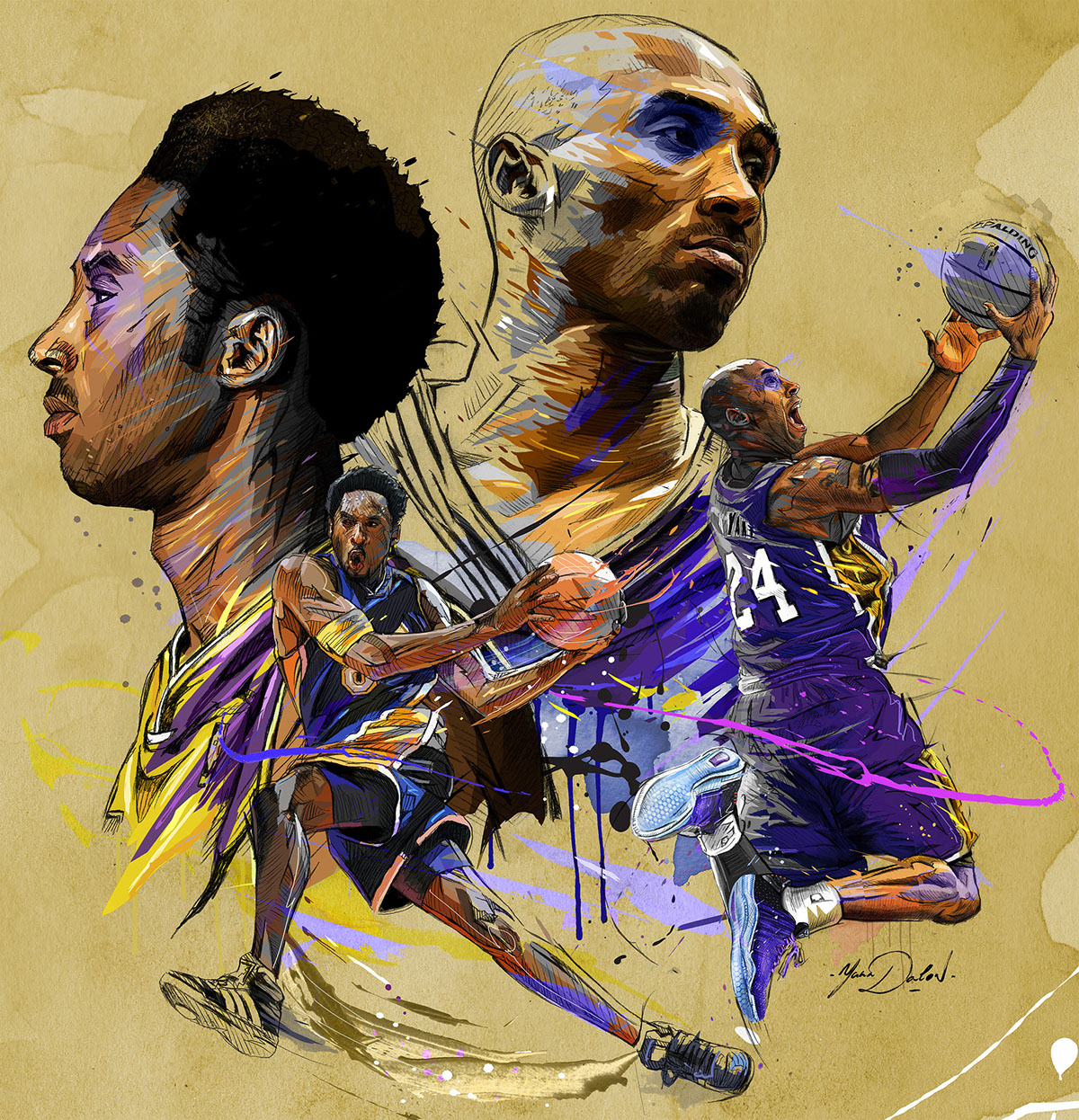 NBA TV- Kobe Bryant Day on Wacom Gallery