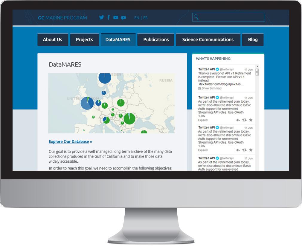 GCMP Website Redesign