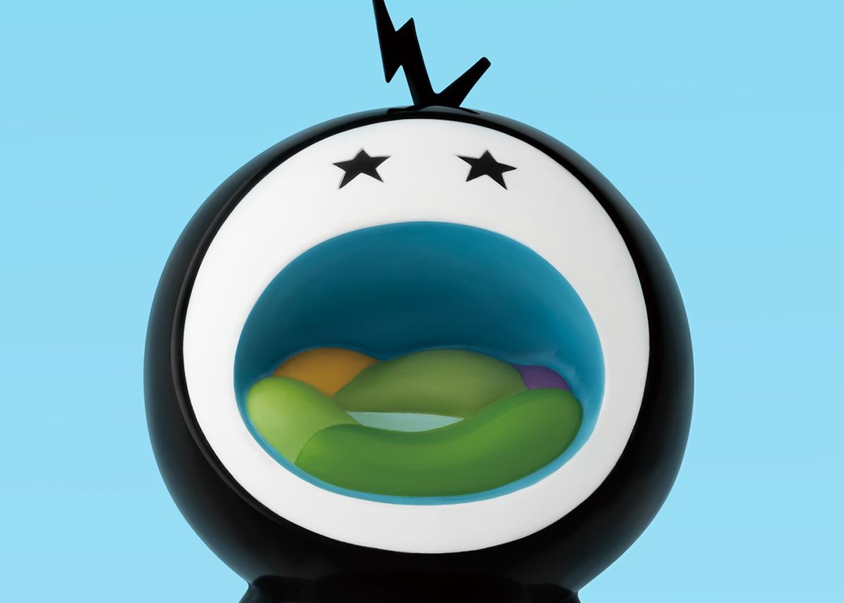 toy sculpture acrylic paint ceramic figure lowny art object howlt