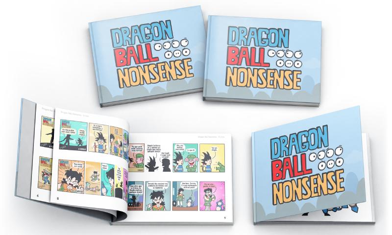 Kickstarter Parody dragon ball book goku Catarse