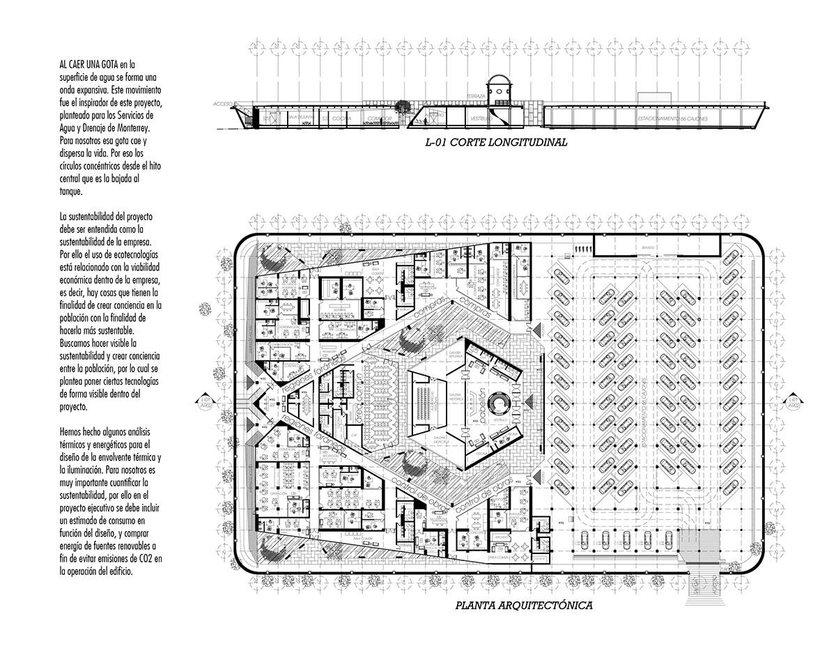 design diseño Style Office Oficinas Concurso Project proyecto