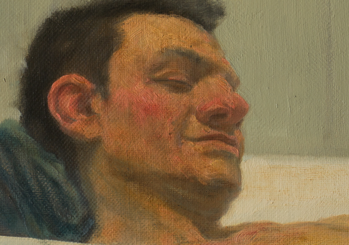 grotesque Realism oil on canvas figurative