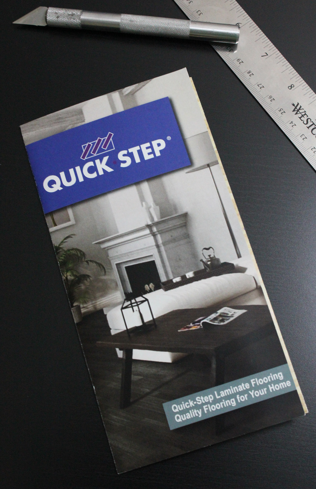 quick step laminate flooring brochure on behance. Black Bedroom Furniture Sets. Home Design Ideas