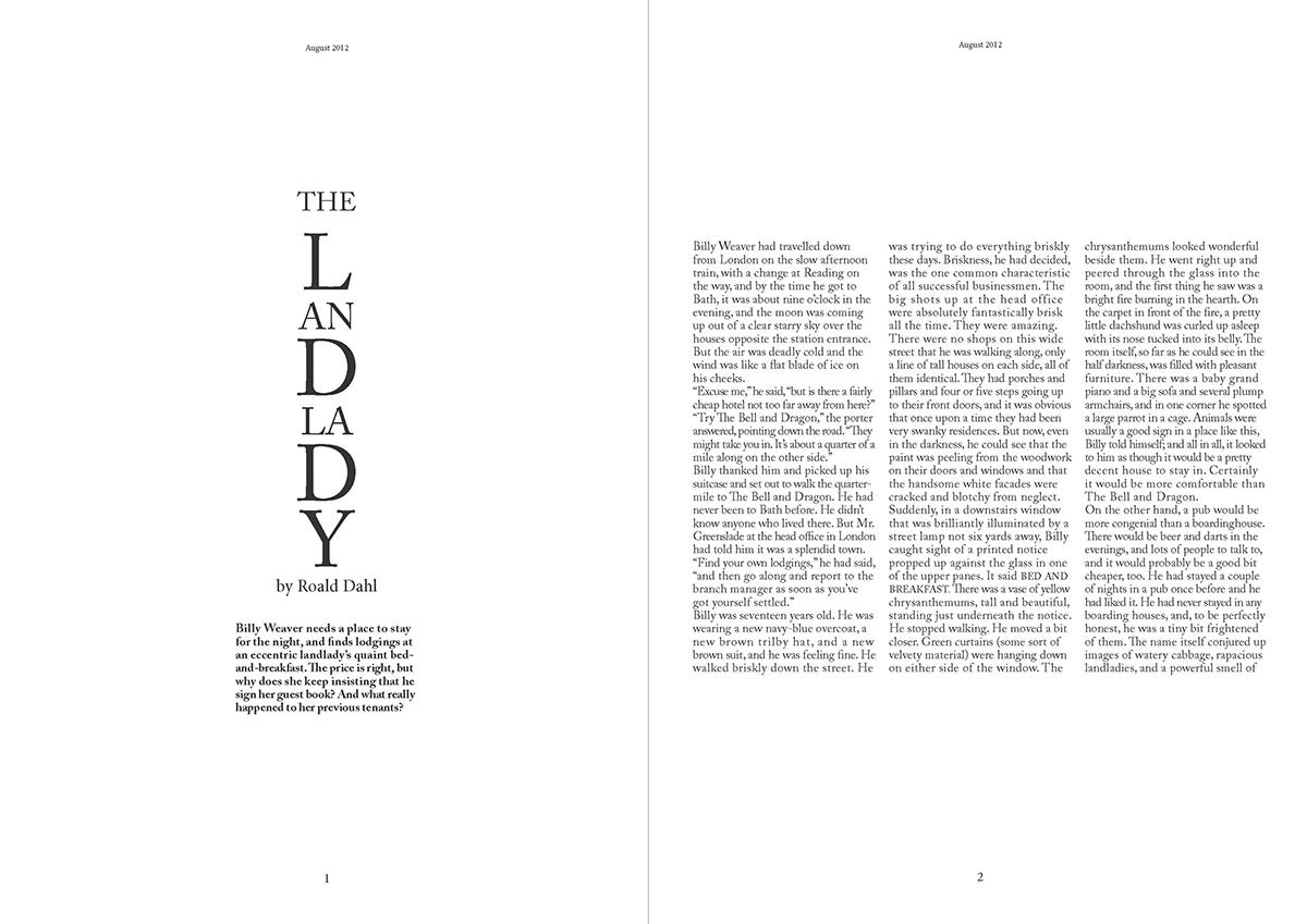 pdf of the landlady text by rhold dahl