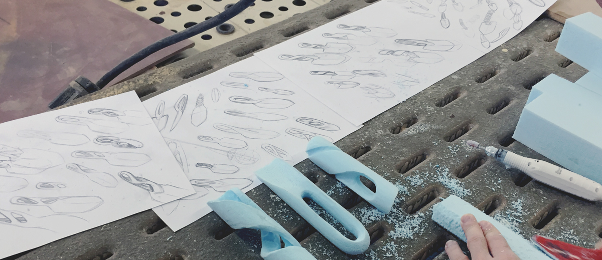 sand casting ergonomic