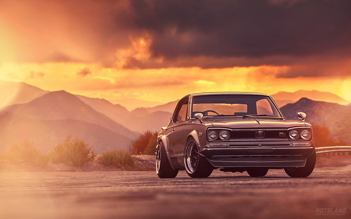 Webb Chevrolet >> 1971 Nissan Skyline 2000 GTX on Behance