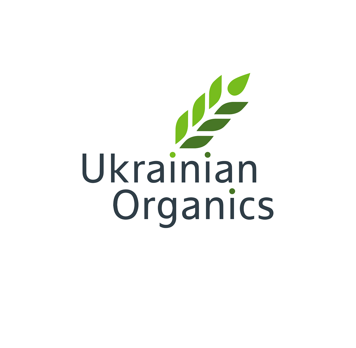 logo for the company producer of organic fertilizers on Behance