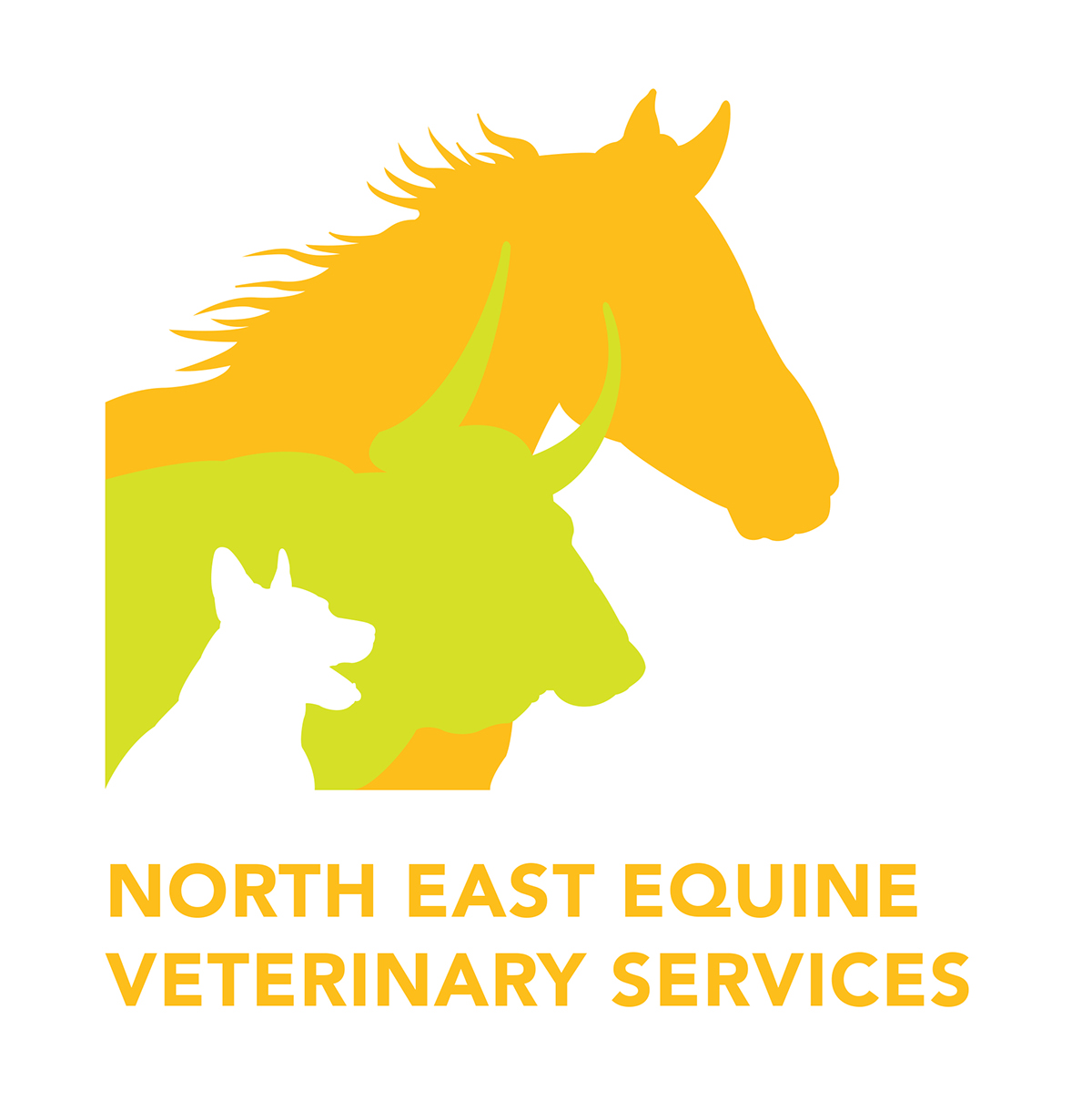 Logo design: North East Equine Veterinary Services on Behance