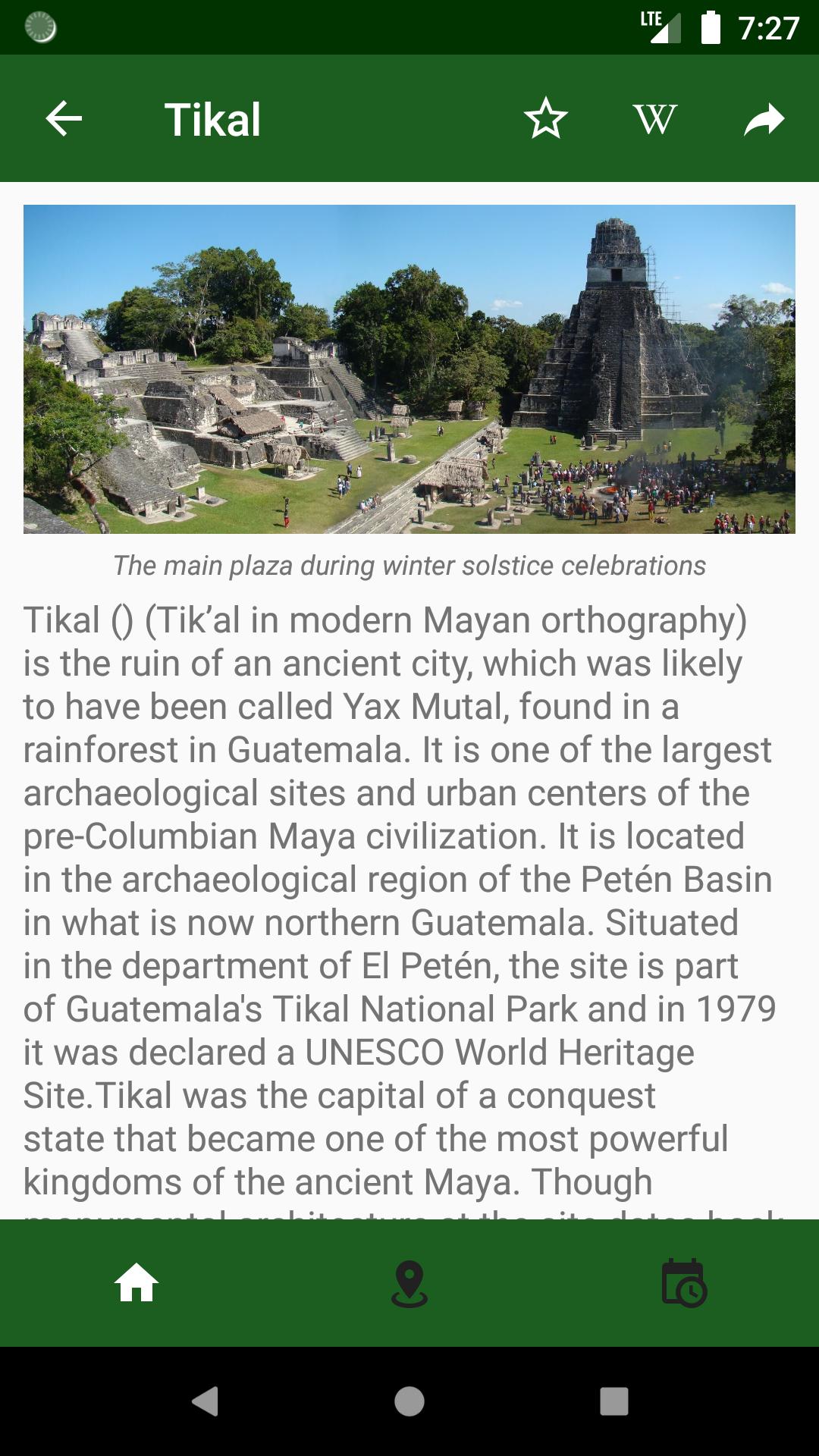 material design Maya america El Salvador Honduras Guatemala mexico tourism belize android