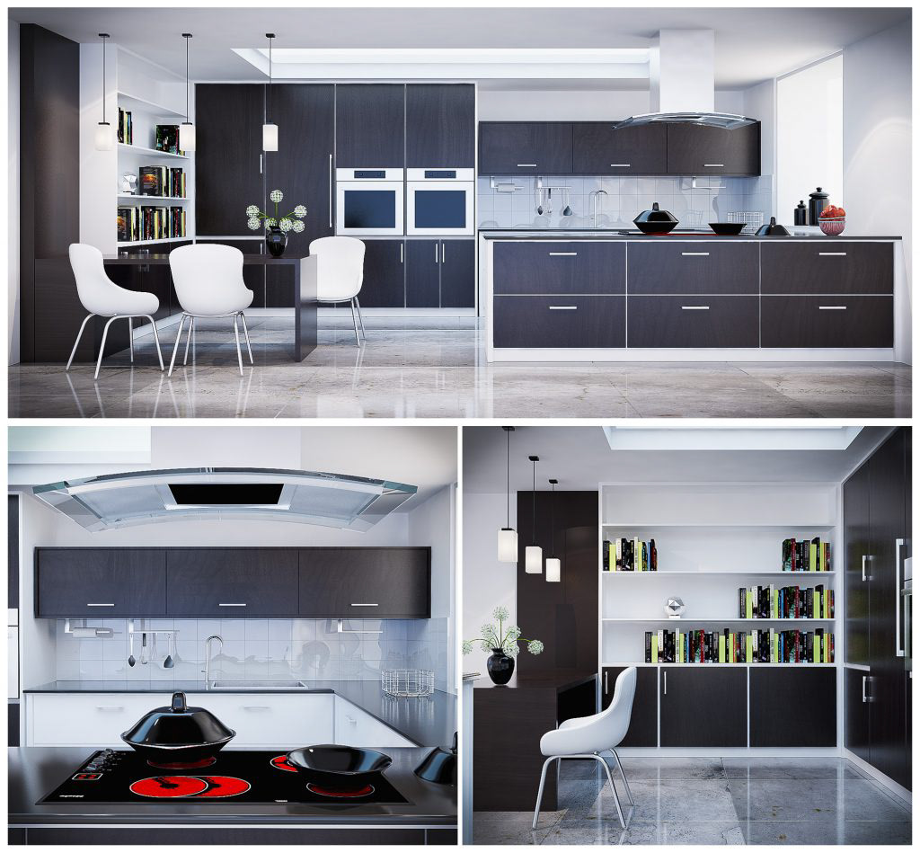 Free 3d Model Kitchen V Ray On Behance