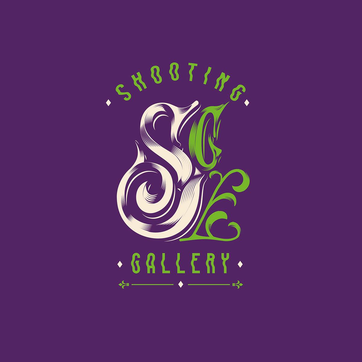 lettering inking Digital Art  horror fantasy Victorian Hitchcokc disney 80s Retro