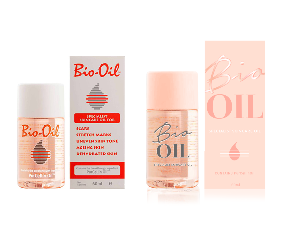 Bio Oil Packaging Project On Behance Skincare Objective To Update The Design For A Popular Specialist Sold In Drugstores And Cosmetics Retailers Throughout United