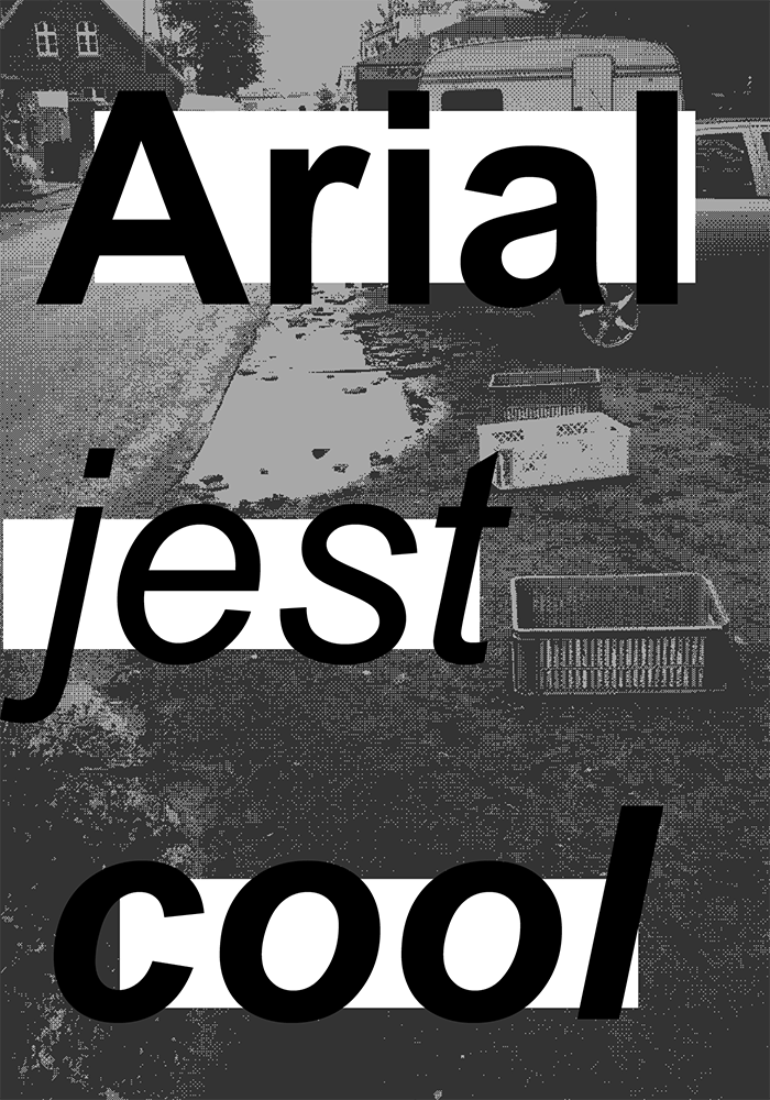 black and white poster affiche plakat collage system failure Exhibition  cultural nikodem pregowski hand made