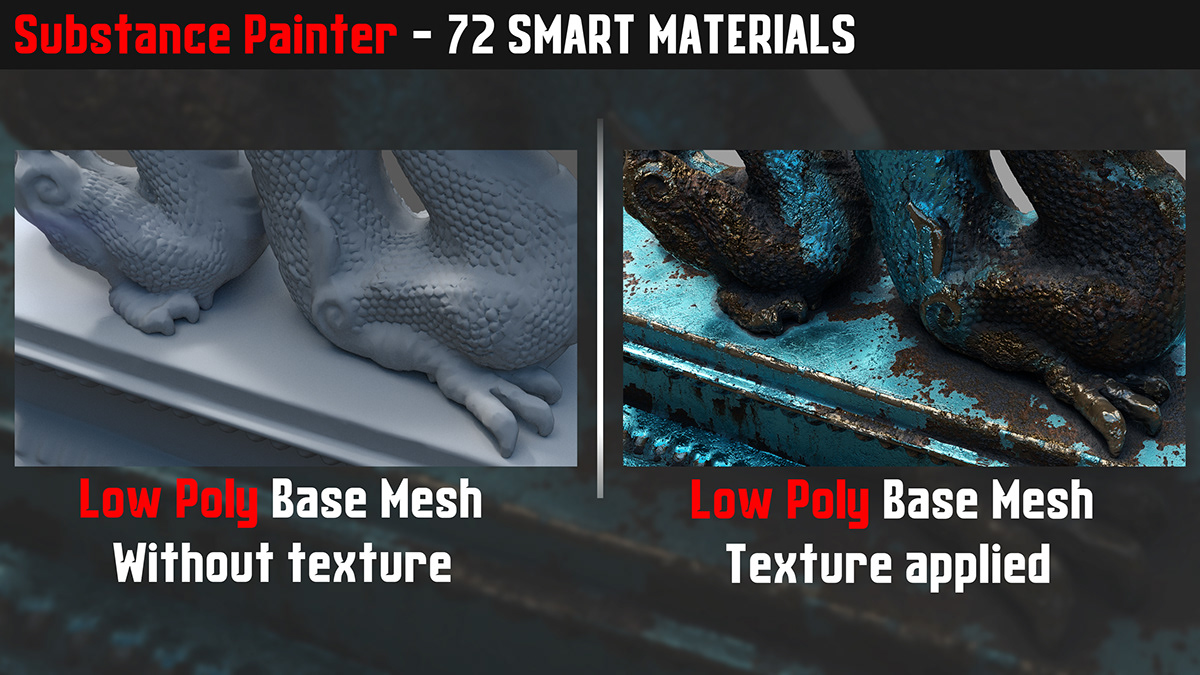 72 Smart Materials - Substance Painter on Student Show