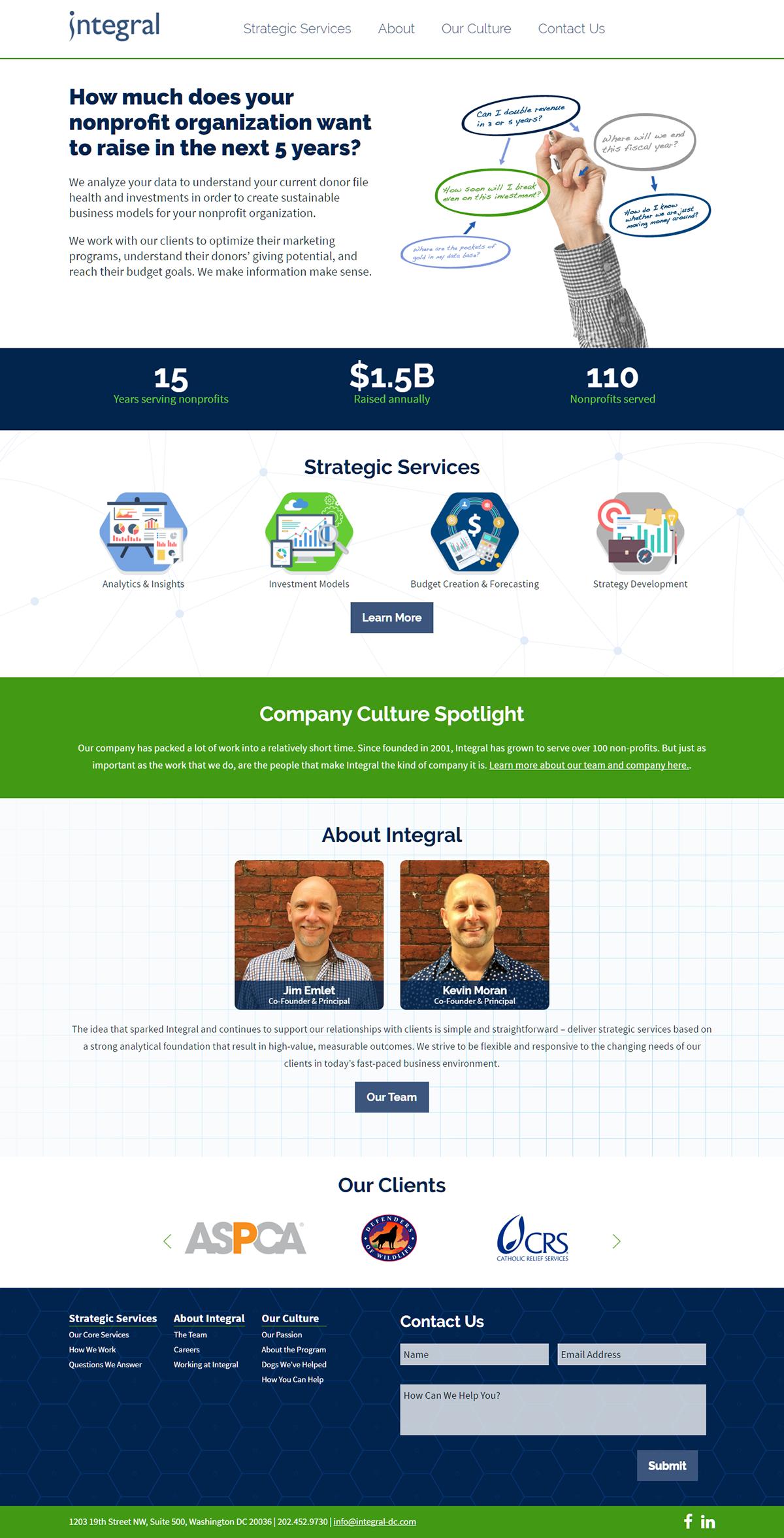 Integral DC Website